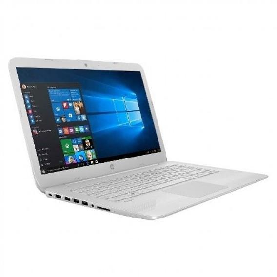 Notebook Hp Dual Core 4gb Ssd 32gb Win10 14