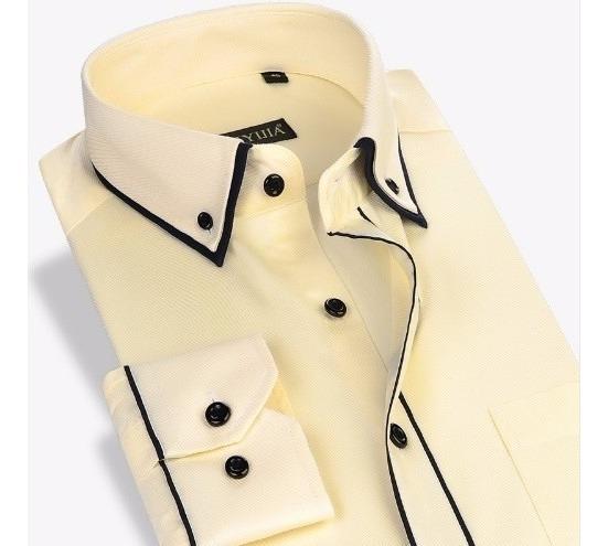 Camisa Social Masculina Slim Noblemen