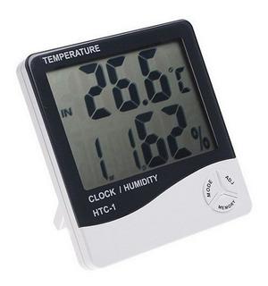 Termómetro Humedad Reloj Digital Despertador!!! Higrometro