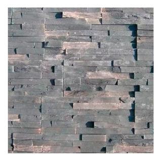 Revestimiento Simil Piedra Ecostone Serrana Oxido Por Caja