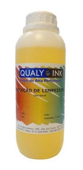 Solução De Limpeza P/ Cartucho De Tinta Qualy Ink Conc. 1 Kg