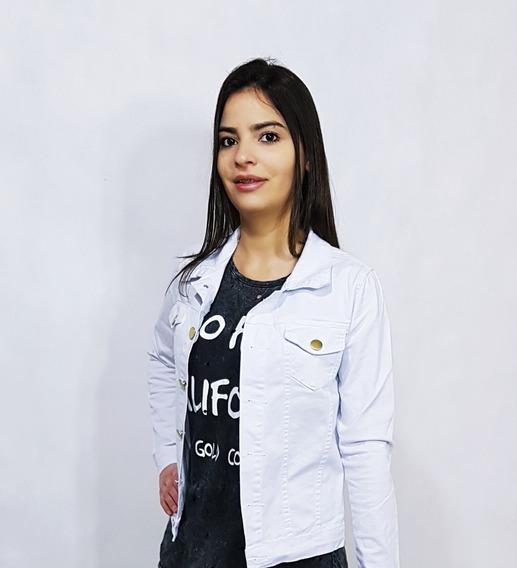 Kit 2 Jaqueta Jeans Feminina Do P Ao G 3