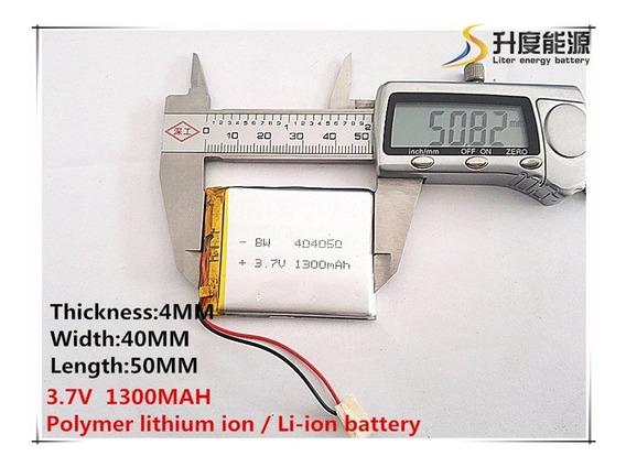 Bateria 1300 Mah 3,7v Apontador Slim Way Slimway Com Tv Gps
