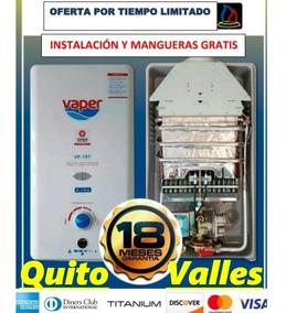 Calefon Instamatic Vaper 26 Lts, A Gas.