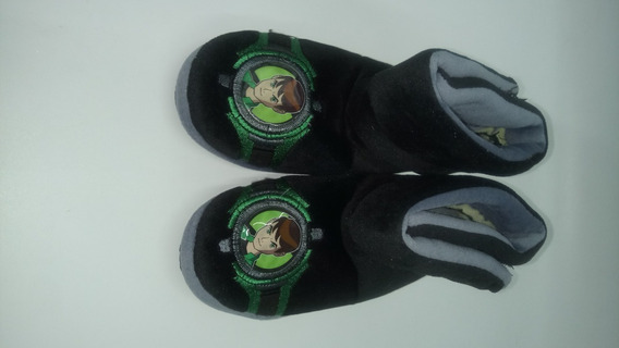 Pantuflas Botas Ben 10 Cartoon Network Footy Antideslizante