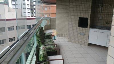 Apartamento Com 2 Dormitórios Para Alugar, 93 M² Por R$ 2.300/mês - Canto Do Forte - Praia Grande/sp - Ap10939