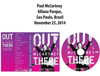 Dvd Paul Mccartney - Allianz Parque,sao Paulo 2014