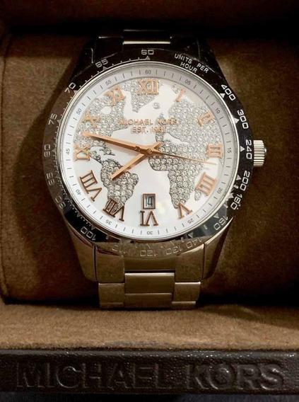 Relógio Michael Kors Mk5958 Layton Prata