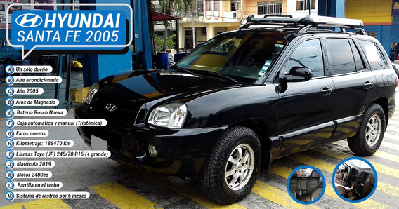 Hyundai Santa Fe 2005 2.4 4x2 Full Equipo