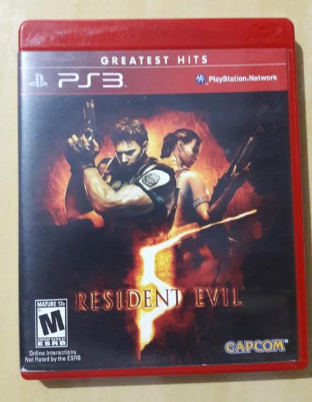 Resident Evil 5 Gold Edition Ps3 Mídia Física Original