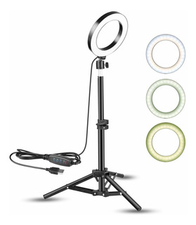 Ring Light 6 With TriPod Stand For Live Streaming/youtub