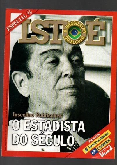 Revista Isto É Juscelino Kubitschek O Estadista Do Século