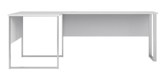 Escritorio Blanco Mesa Para Computadora Credenza Para Oficina Con Envío
