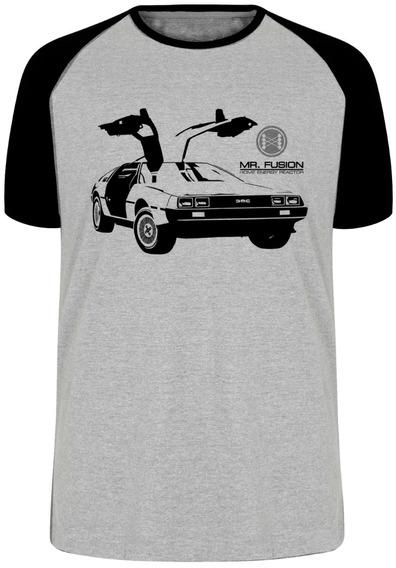 Camiseta Luxo De Volta Para Futuro Back Future Delorean Car
