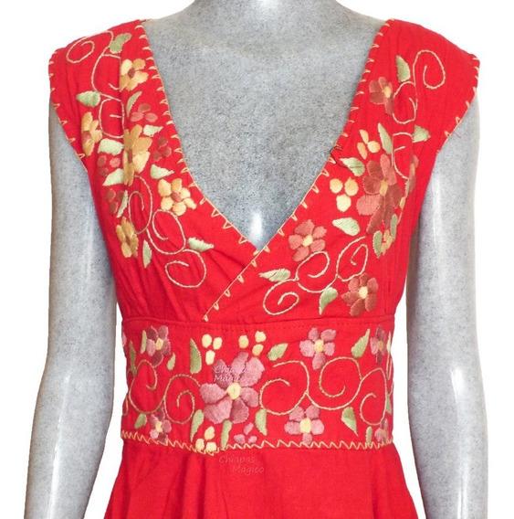 Vestido De Manta Bordado A Mano Vestidos En Mercado Libre
