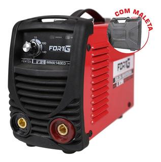 Máquina De Solda Inversora Mma140ed Com Maleta 140a-fortgpro