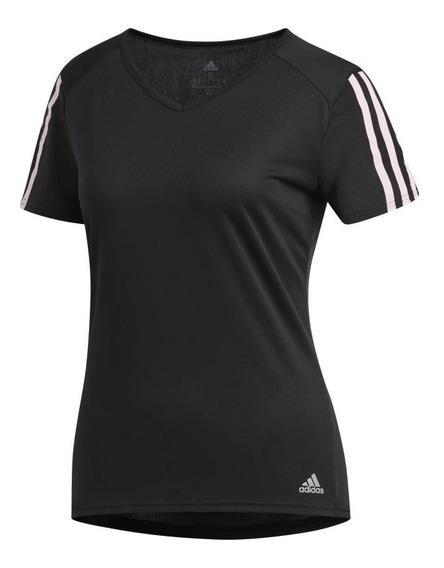 Camiseta Feminina adidas Dx2021 - Preta/rosa