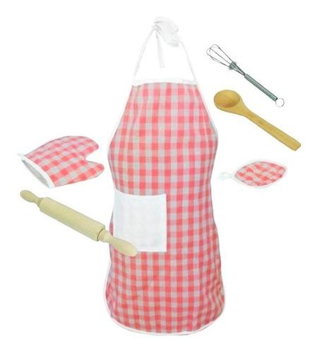 Avental E Acessórios Mini Chef Xalingo 11409