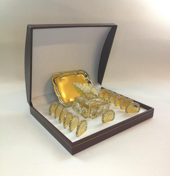Arras Para Boda Bañadas En Oro Y Zirconias