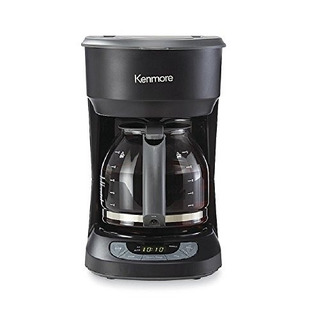 Cafetera Programable Kenmore 12cup Negra