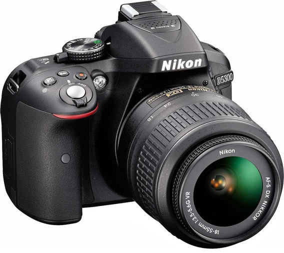 Camara Digital Nikon D5300 Kit 18-55 Mm 24mp Full Hd Wifi