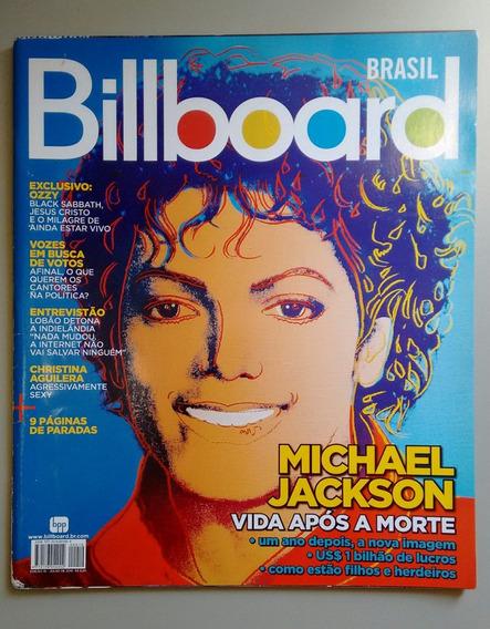 Revista Billboard 10 Michael Jackson Ozzys Lobão 063