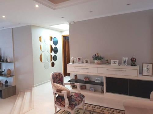 Apartamento Com 3 Suítes Para Venda Ou Locação, 195 M², Um Por Andar - Bairro Jardim - Santo André/sp - Ap0389 - 67855140