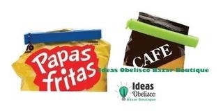 Broche Sella Bolsa Envases Paquetes Colores Palermo O Centro