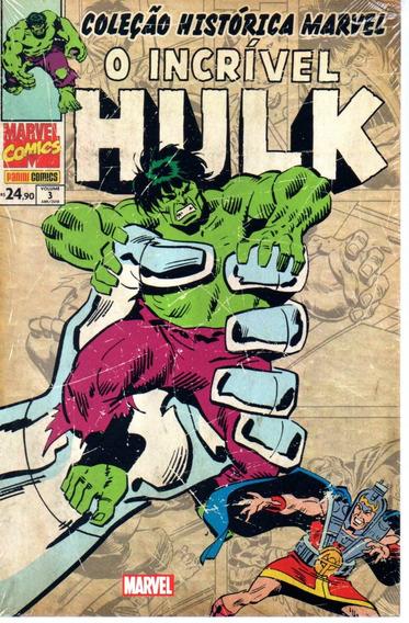 Colecao Historica O Incrivel Hulk 3 - Bonellihq Cx123 I19