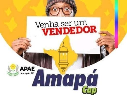 Imagem 1 de 1 de Vendedor De Cartelas Do Amapá  Cap Titulos  De Capitalizaçõe