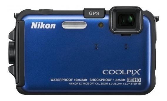Camera Nikon Aw 100 - Com Defeito