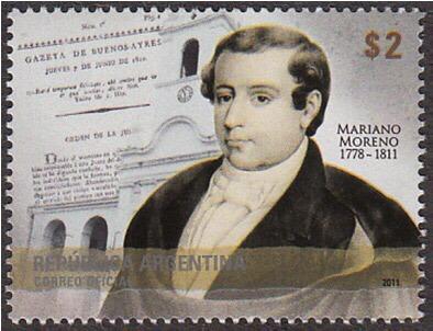 200 Años Del Fallecimiento De Mariano Moreno. 2010.