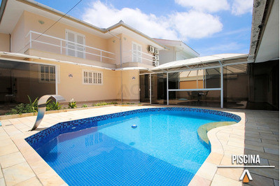 Acrc Imóveis - Casa Para Locação Com 04 Dormitórios, Piscina E Garagem Coberta - Ca00822 - 33537259
