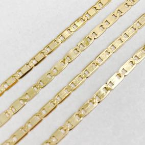 Cordão Corrente Em Ouro 18k Piastrine 60cm 4,20gr