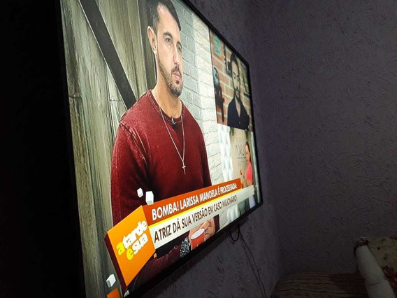 Tv 49 Polegadas Com Menos De 1 Mês De Uso, Ainda Com Plástic