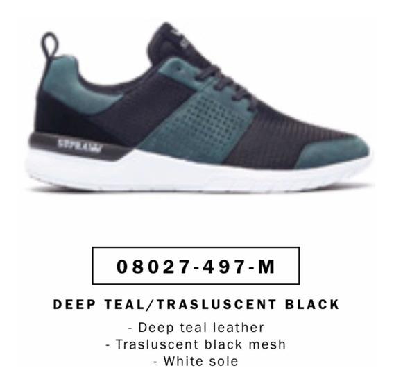 Zapatillas Supra Scissor Deep Teal/trasluscent Black