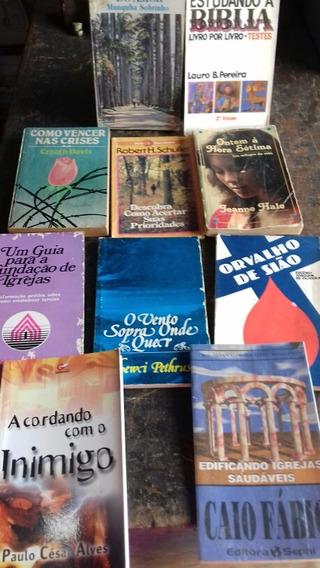 10 Livros Bolso Evangélicos - Frete Grátis