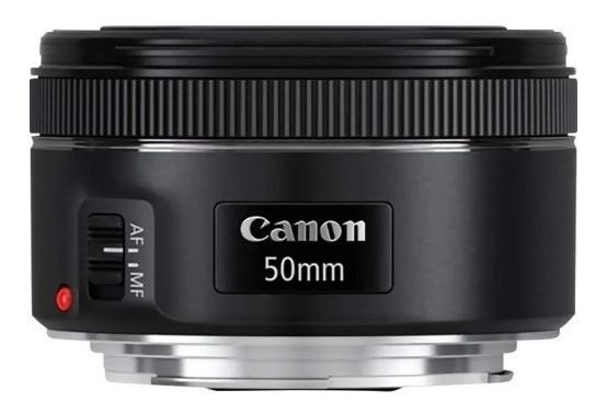 Lente Canon Ef 50mm F/ 1.8 Stm Original (usada Poucas Vezes)