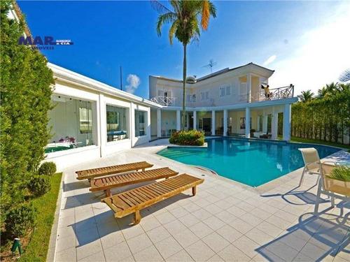Casa Com 5 Dormitórios À Venda, 858 M² Por R$ 2.800.000,00 - Acapulco - Guarujá/sp - Ca0511