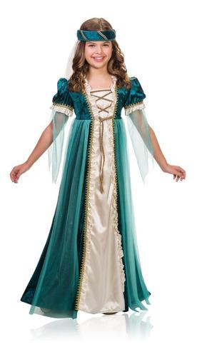 Disfraz De Renacimiento Medieval Para Niñas Envio Gratis 23