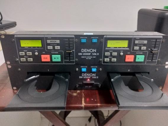 Cd Duplo Denon Dn-2000f Mk2