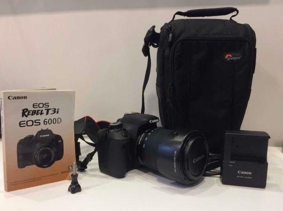 Câmera Canon Eos 600d Rebel T3i