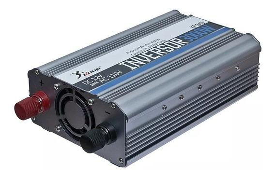 Inversor Automotivo Veicular 3000w 12v 110v Ou 220v Knup