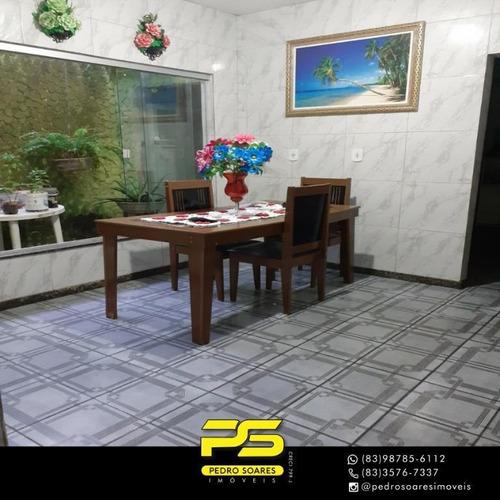 Casa Com 3 Dormitórios À Venda, 176 M² Por R$ 290.000 - Mangabeira - João Pessoa/pb - Ca0645