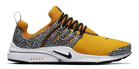 Tenis Nike Air Presto Safari Gold Qs 42 Edicao Limitada
