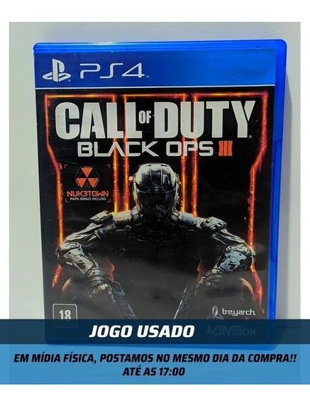 Jogo -call Of Duty Black Ops 3 - Usado