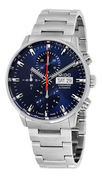 Relógio Mido Commander Ii Chronograph - M016.414.11.041.00