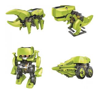 Kit Solar Robot Transformer 4 En 1 Steren K-455