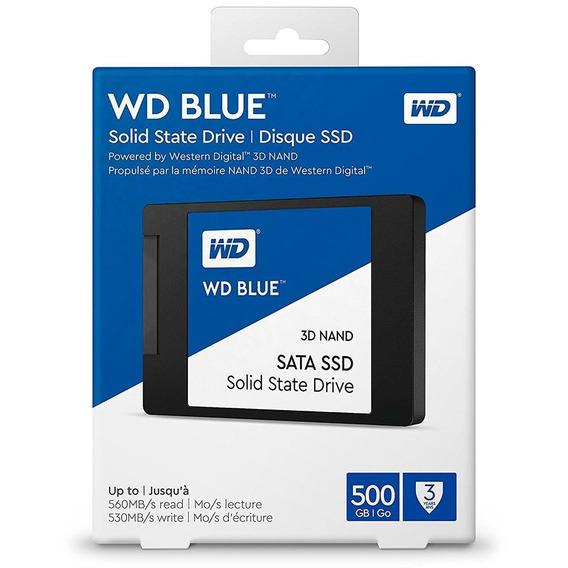 Ssd Wd Blue M.2 2280 500gb 3d Nand