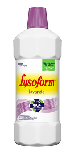 Imagem 1 de 1 de Lysoform Desinfetante Líquido Lavanda 1 L